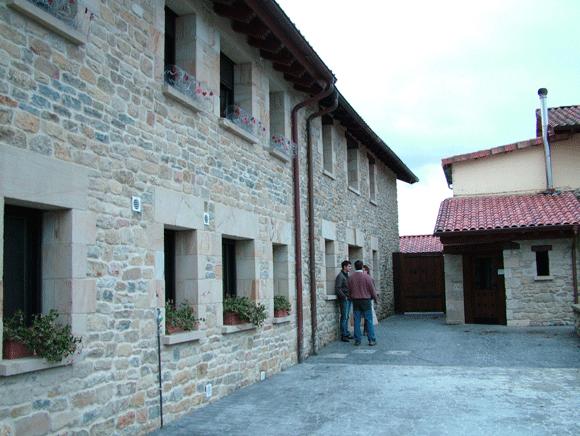 Casa rural Arkaia. Álava. Caldera de biomasa Hargassner