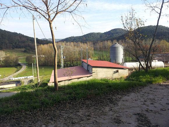 Explotación agropecuaria Pairó. La Garrotxa. Girona. Calderas de biomasa Hargassner