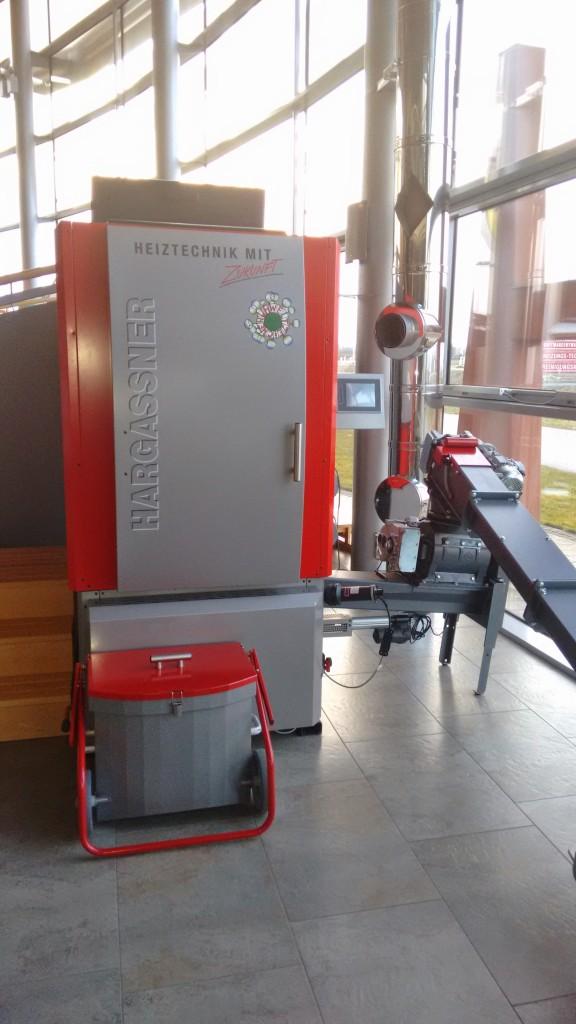 Caldera de pellets Hargassner WTH 150-200 kW