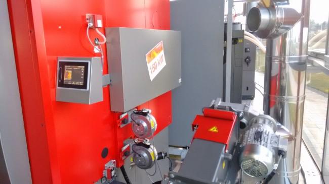 Control TOUCH.Sistema control caldera de pellets Hargassner